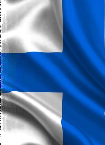 картинка флаг Финляндии