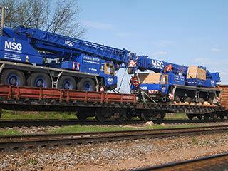 фото перевозка тяжелых грузов ж/д транспортом